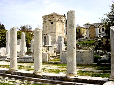 WELCOME TO ATHENS - The ATHENS GUIDE - Roman Agora - Page One